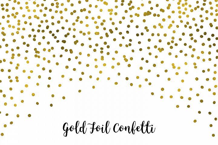 Gold Foil Confetti, Transparent PNG