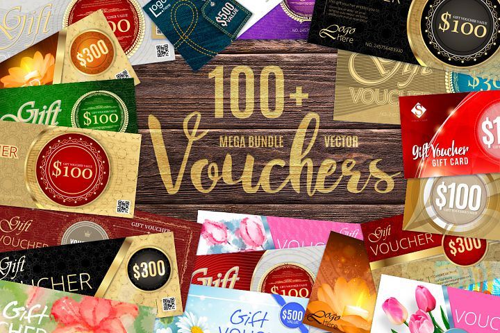 Vector Vouchers Bundle