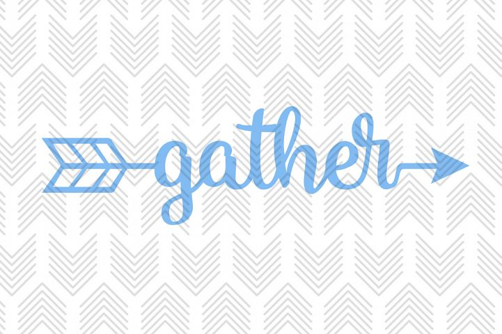 Gather Arrow - SVG, AI, EPS, PDF, DXF & PNG FILES