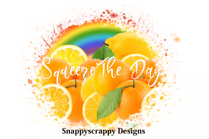 Squeeze the Day Sublimation