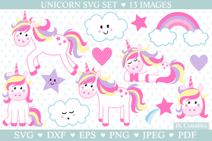 Unicorn Svg, Unicorn Svg Cut Files