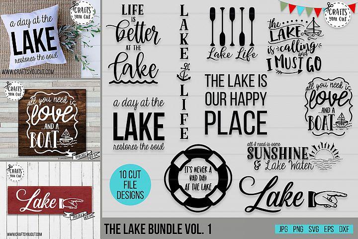 The Lake Bundle Vol. 1- A Summer/Lake SVG Cut File Bundle