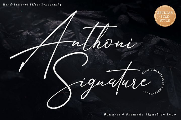 Anthoni Signature