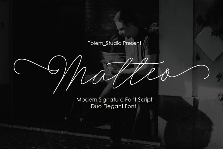 Matteo Script