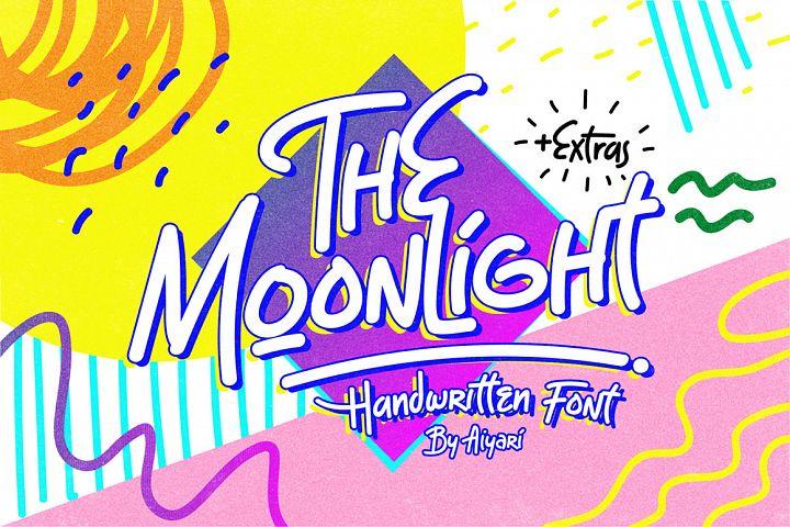 The Moonlight - Handwritten Font