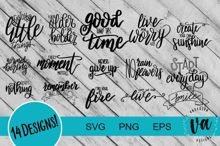 Inspirational Bundle SVGs