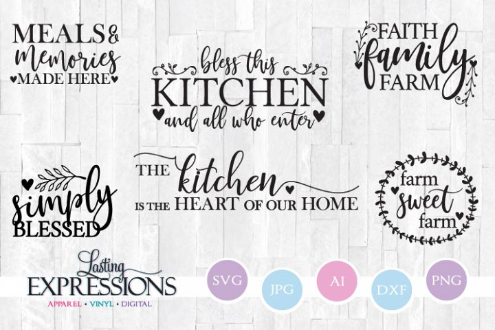 Farm Style Craft Quote Bundle