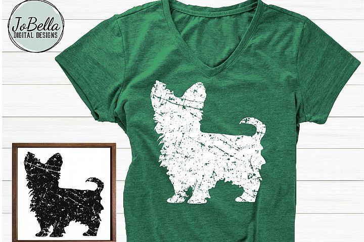 Yorkshire Terrier SVG, Printable & Sublimation Design