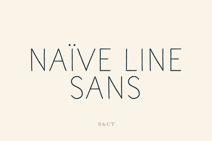 Naive Line Sans Family