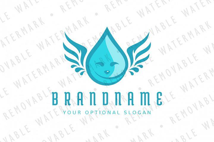 Droplet Angel Logo