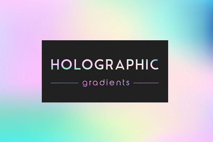 Holographic gradients set 20