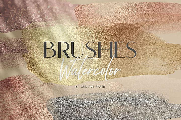 Watercolor Brush Strokes -70 Png Transparent Elements