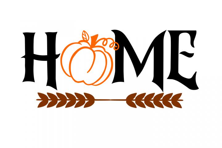 Autumn Home SVG File
