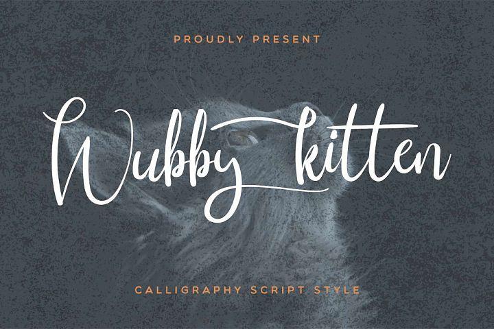 Wubby Kitten