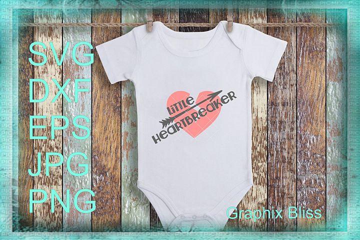 Little Heartbreaker Valentine Design SVG