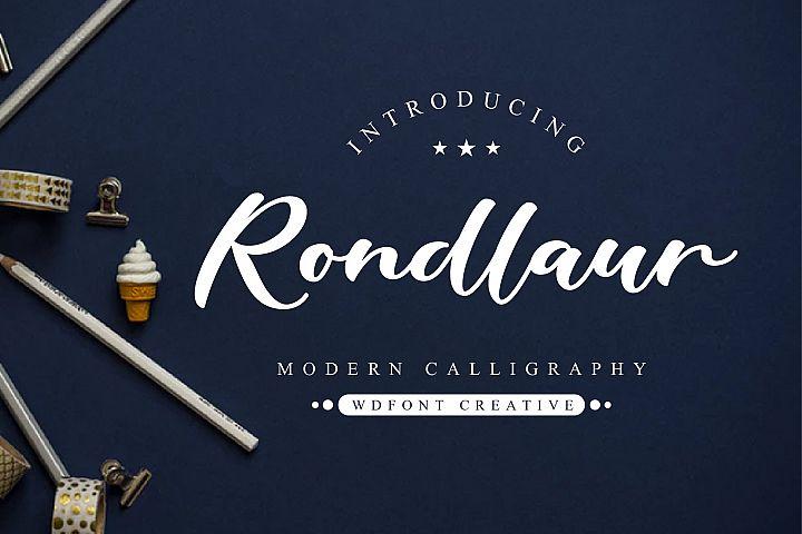 Rondlaur | Modern Calligraphy