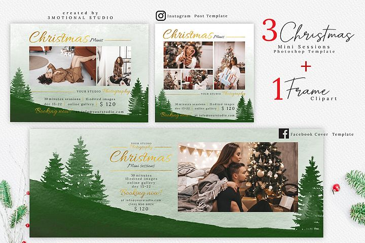Christmas Mini Session Template 03