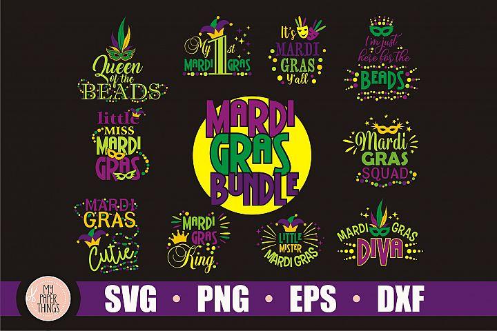 Mardi Gras svg bundle