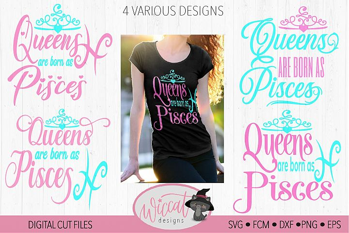 Zodiac Pisces, Queens are born as Pisces,
