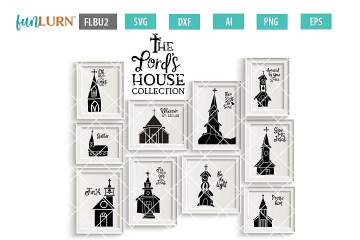 The Lords House Collection SVG Bundle - Faith - Christmas