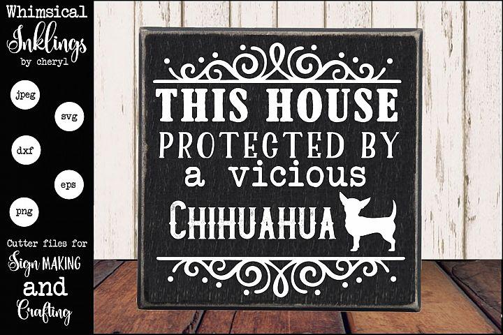 Vicious Chihuahua SVG