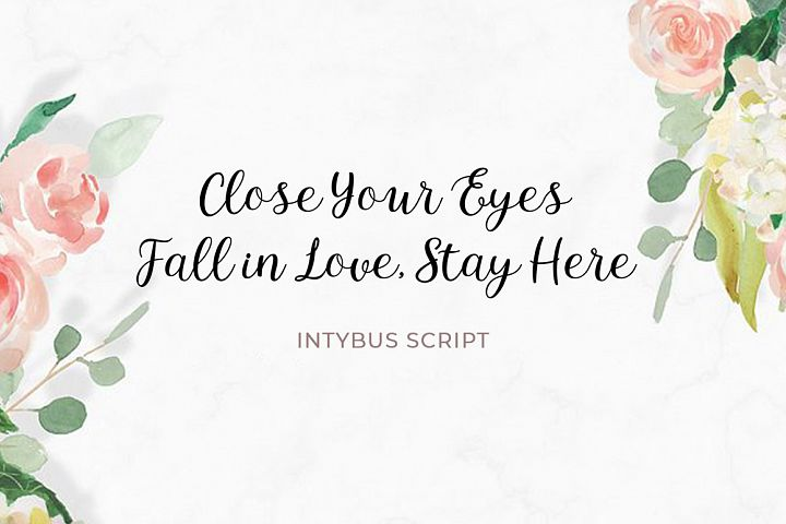 Intybus Script - Free Font of The Week Design2