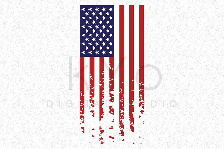 Distressed American flag SVG independence day SVG Presidents day svg US flag vector image Grunge flag