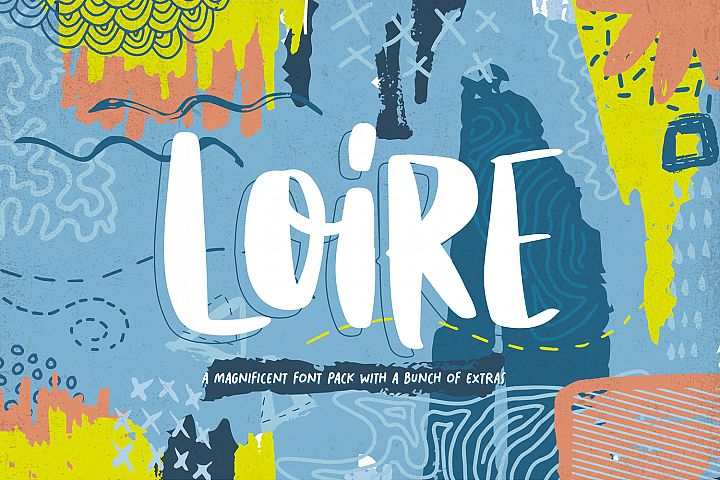 Loire Font Pack & Graphic Bundle