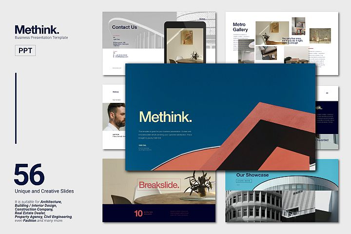 Methink Creative Business Presentation Powerpoint