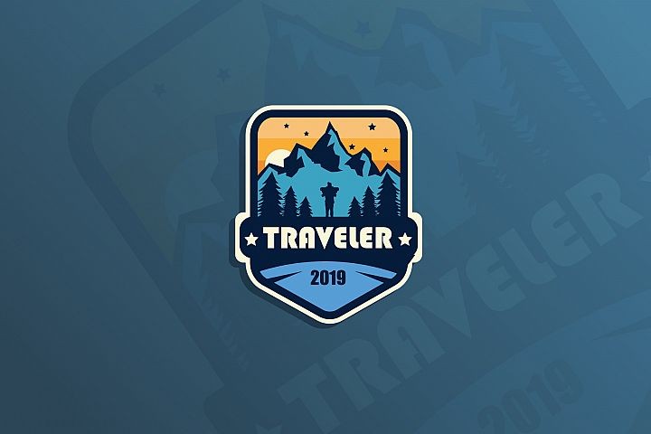 Traveler.Sticker