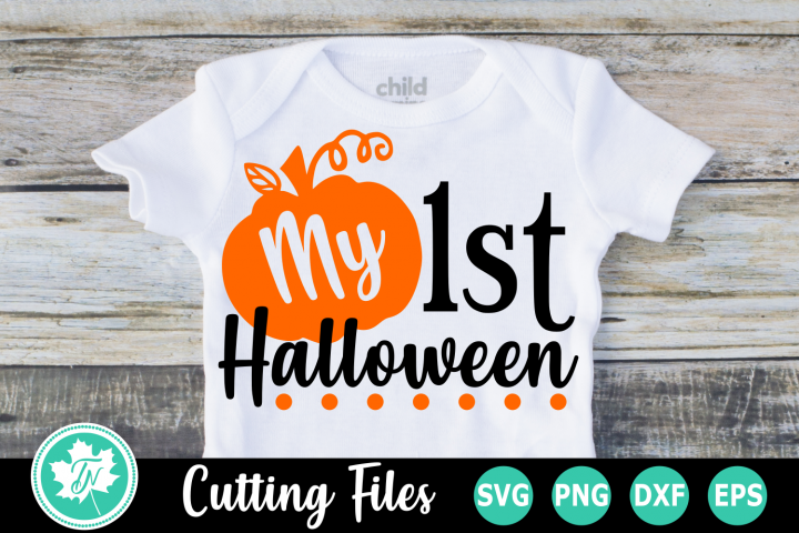 My 1st Halloween - A Halloween SVG Cut File