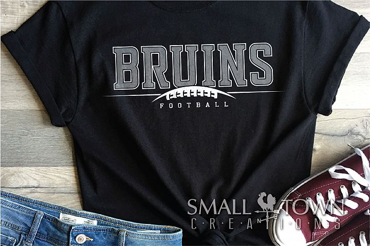 Bruin, Bruin Football, Bruin mascot, PRINT, CUT, DESIGN
