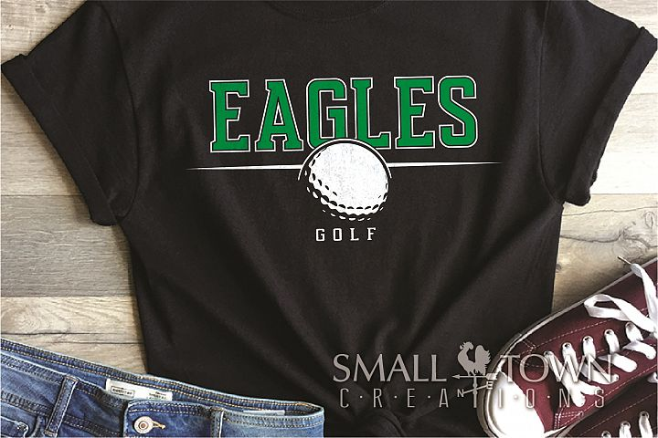 Eagle, Eagle Golf, Golf Team, logo, PRINT, CUT & DESIGN