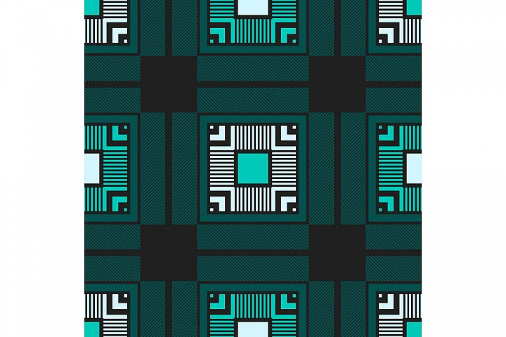 Tartan texture. Set of 10 seamless patterns.