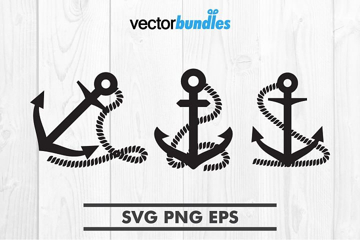 Anchor rope clip art svg
