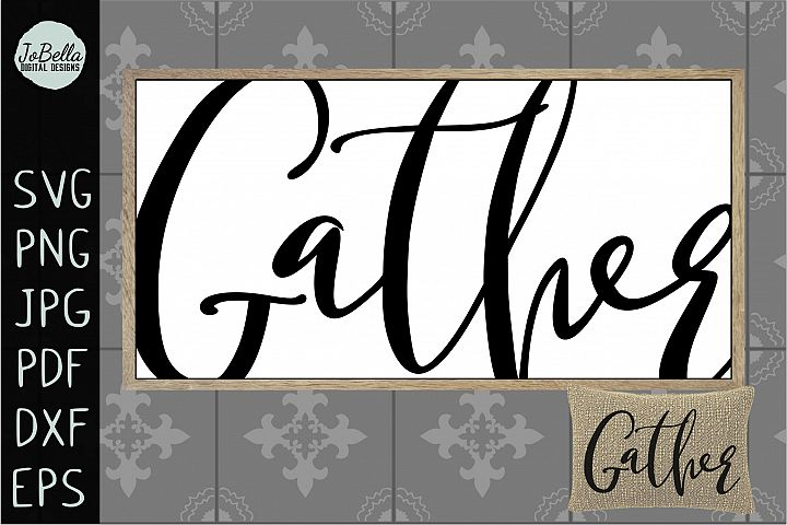 Oversized Gather SVG, Sublimation PNG & and Printable