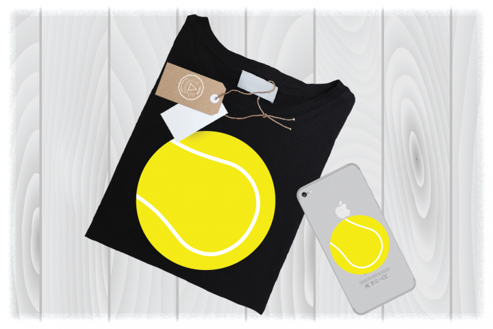 Tennis Ball SVG, Tennis Clipart, Tennis Cricut