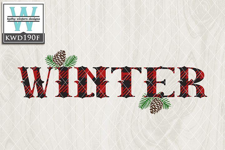 Christmas SVG - Winter