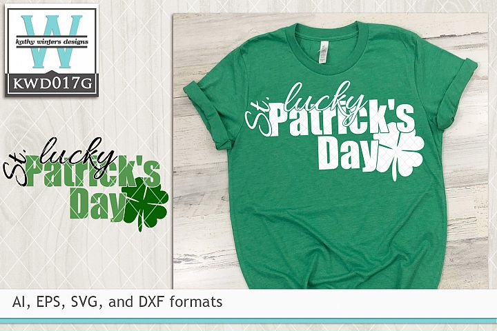 St. Patricks SVG - Lucky St. Patricks Day