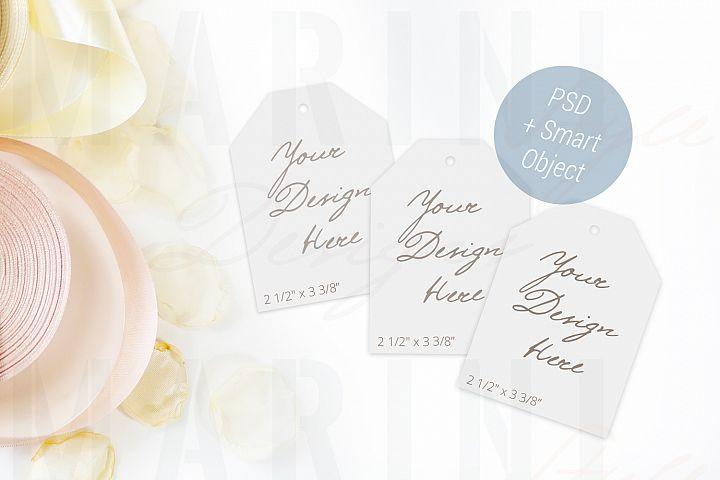 Gift Tag Mockup, Thank you tag, Wedding thank you card, 862