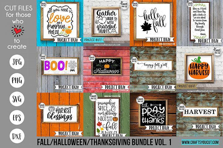 Fall/Halloween/Thanksgiving Vol. 1