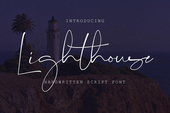 Lighthouse Script Font