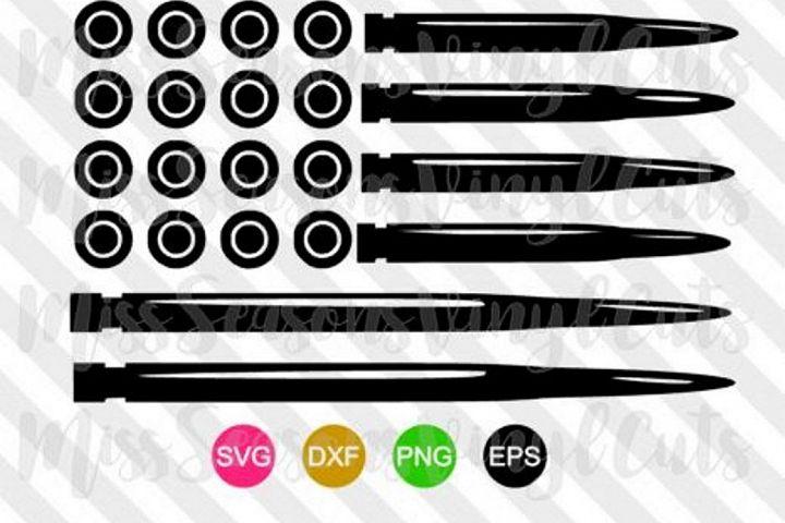Bullet Flag SVG Png Dxf EPS