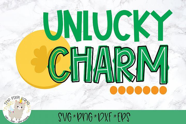 UnLucky Charm St Patricks SVG Cut File