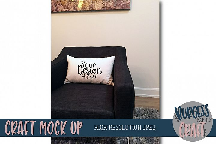 Pillow Craft Mock up | High Resolution JPEG