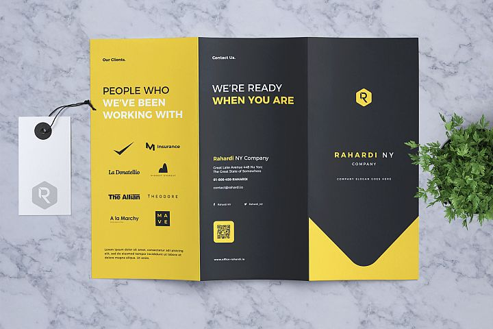 Corporate Business Trifold Flyer