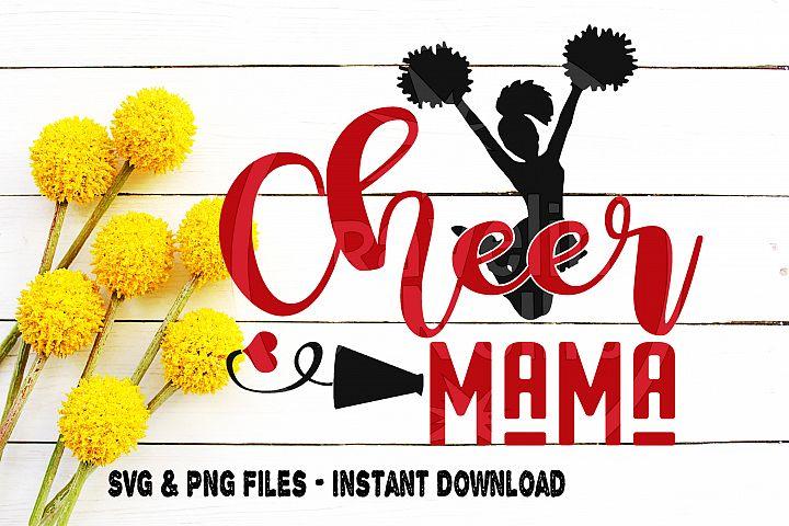 Cheer Mama SVG Cheerleading Cheerleader Squad Team Mom