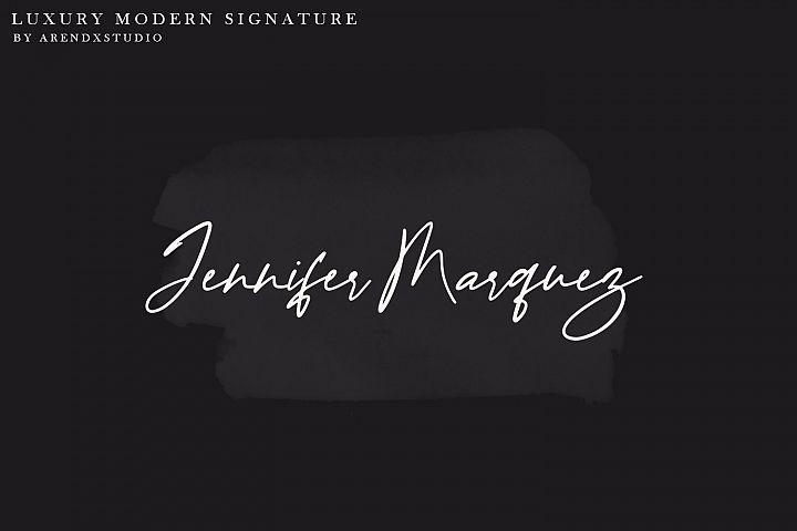 Baekrajan Luxury Modern Signature example image 3
