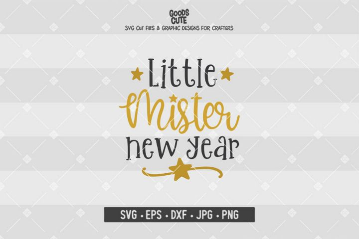 Little Mister New Year SVG