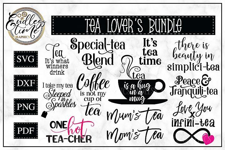 Tea-rific SVG Bundle for Tea Lovers